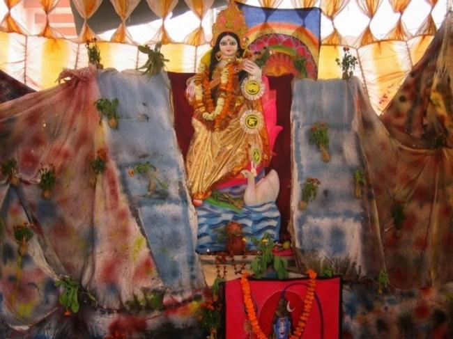 Saraswati puja in Varanasi