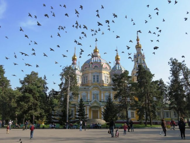 Zenkov cathedral is among the top things to do in Almaty
