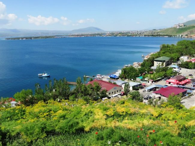 Lake Sevan in Armenia
