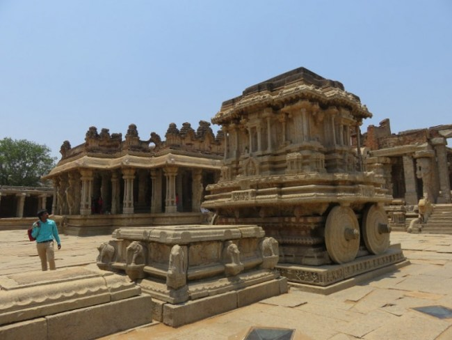 Vittala temple is among the top places to visit in Hampi