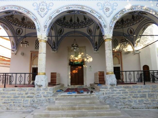 A mosque in Kosovo