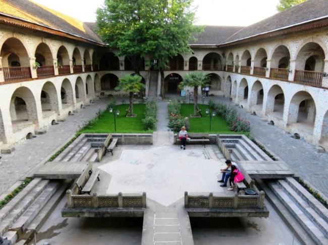 The Karavan Serai hotel in Sheki
