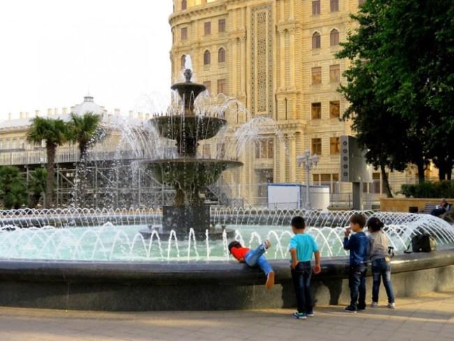 Backpacking Baku