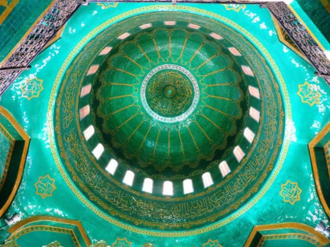 Bibi Heybad mosque in the Absheron Peninsula