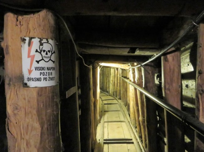 The tunnel museum is among the best things to do in Sarajevo Bosnia