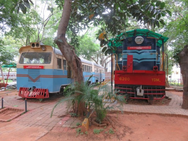 things to do in mysore: rail museum