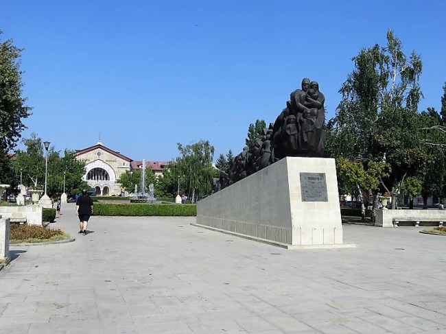 the monument of victims of political repression in Chisinau