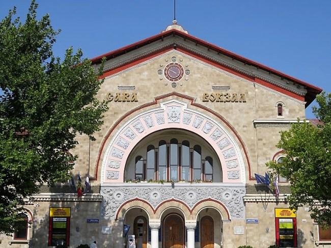 train station in Chisinau