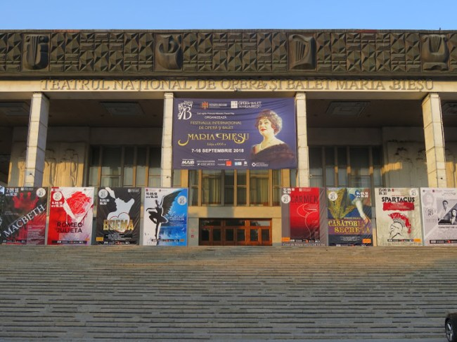 Moldovan National Opera and Theatre in Chisinau