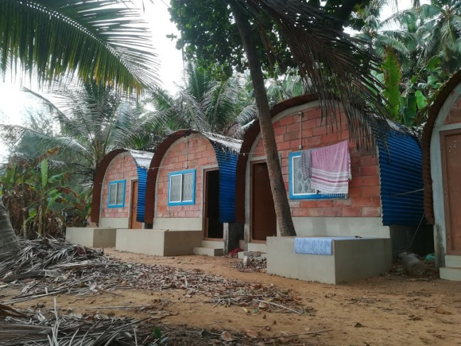 Uma Garden at Kudlee beach is one of the best places to sleep in Gokarna