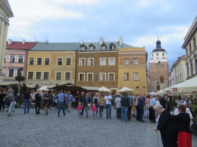 The old town in Lublin Poland
