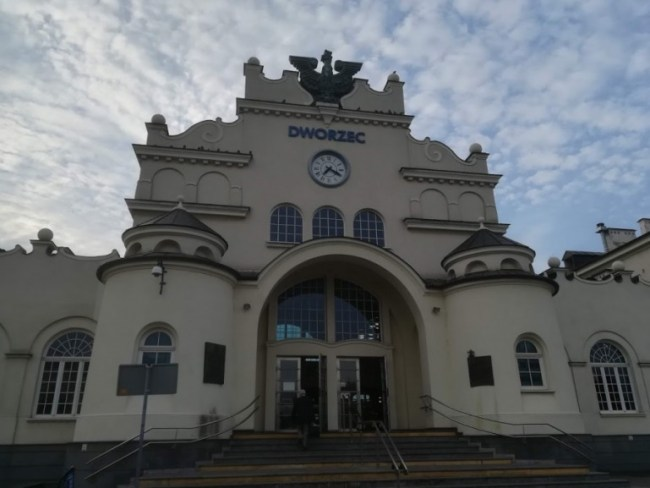 train station of Lublin