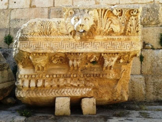 Baalbek the best roman ruins in Lebanon