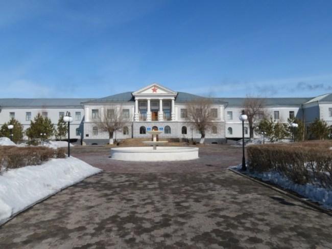 Karlag gulag museum near Dolinka Karaganda