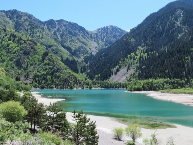 Lake Issyk is among the best things to do near Almaty, Kazakhstan