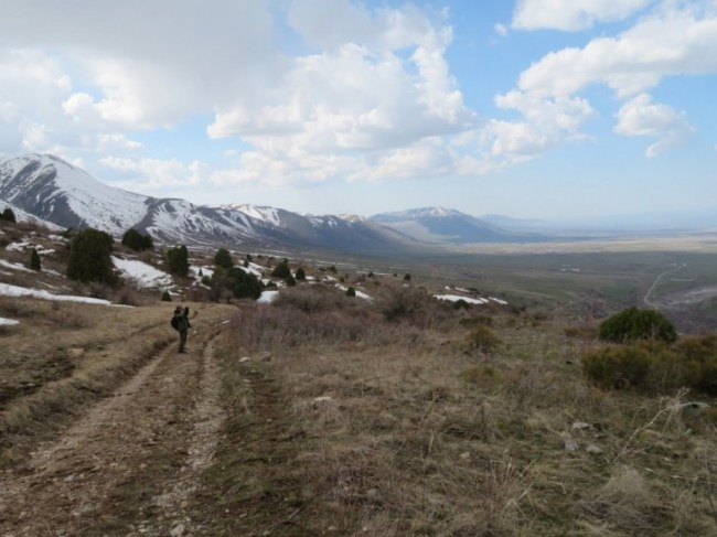 Hiking in Aksu Zhabagly National Park