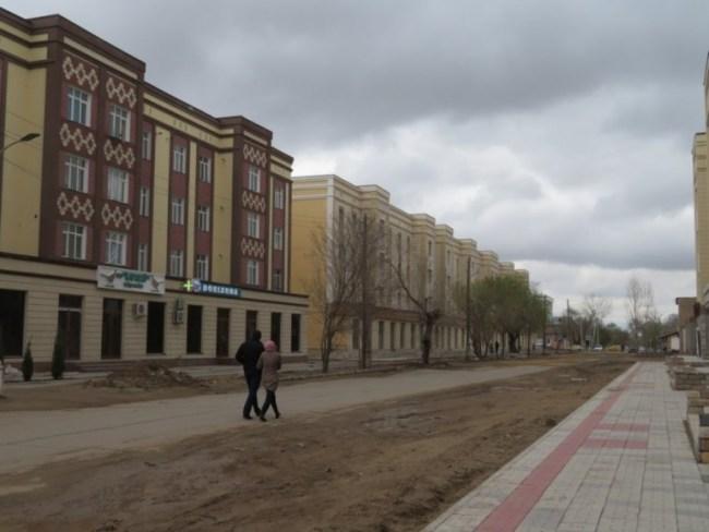 street in Nukus