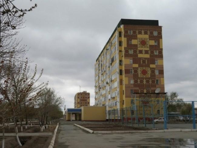 Soviet flat in Nukus