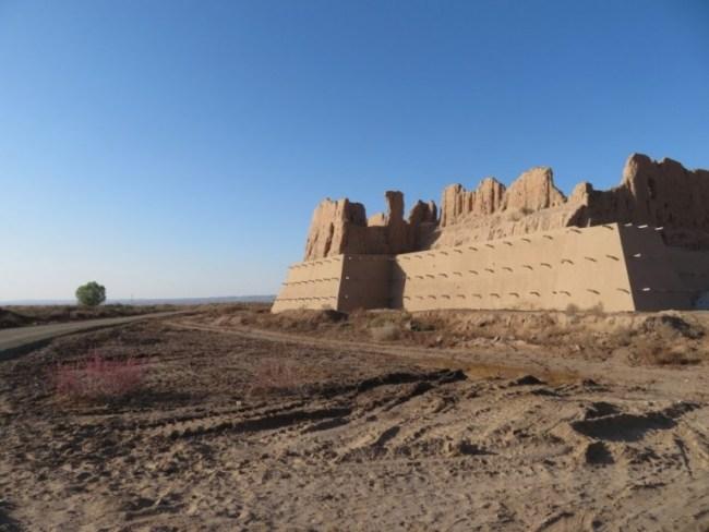 One of the desert castles in Karakalpakstan