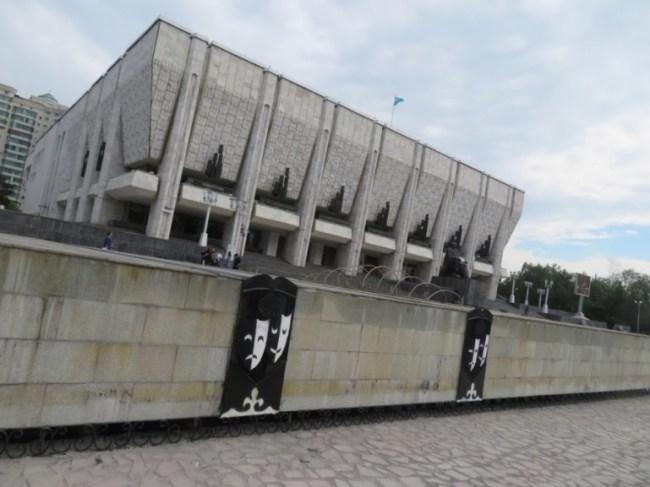 The Auezov Drama Theatre in Almaty