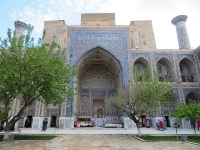 Registan in Samarkand Uzbekistan