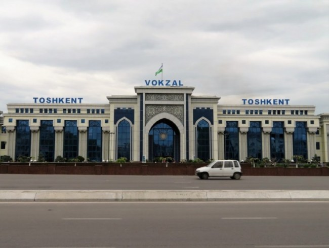 Tashkent station in Uzbekistan