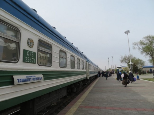 The Soviet trains in Uzbekistan are an adventurous way to travel throughout the country