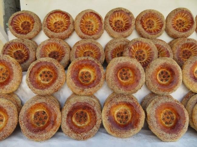 Obi non bread in Uzbekistan