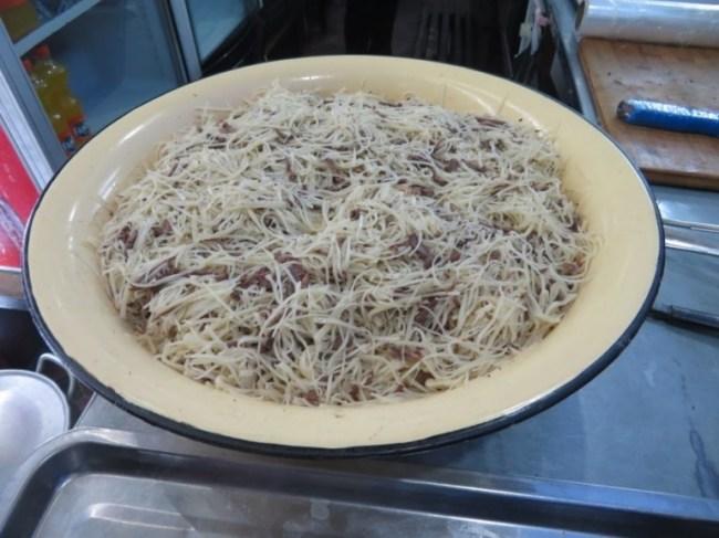 Naryn at National Food in Tashkent Uzbekistan