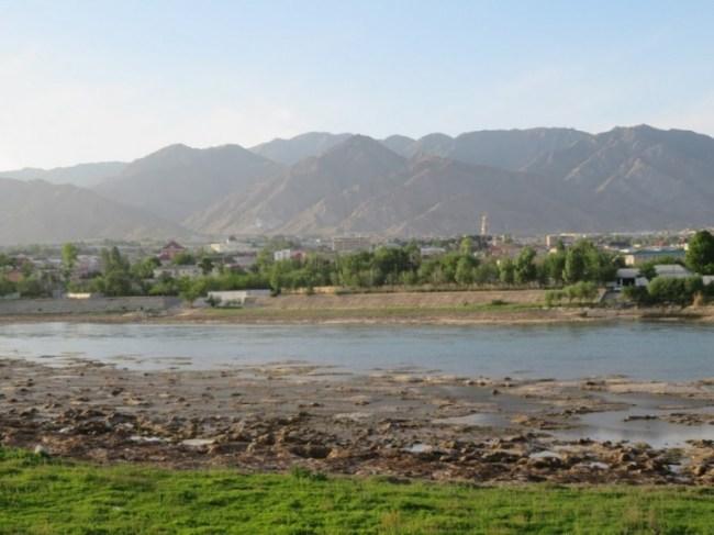 Zerafshan valley