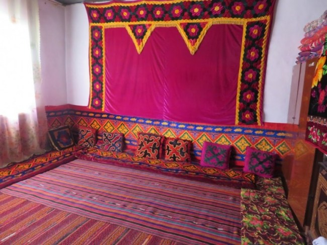 Homestay in Karakul on the Pamir highway Tajikistan