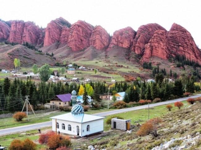 Jeti Oguz Kyrgyzstan