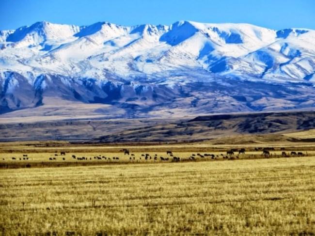 Suusamyr valley Kyrgyzstan