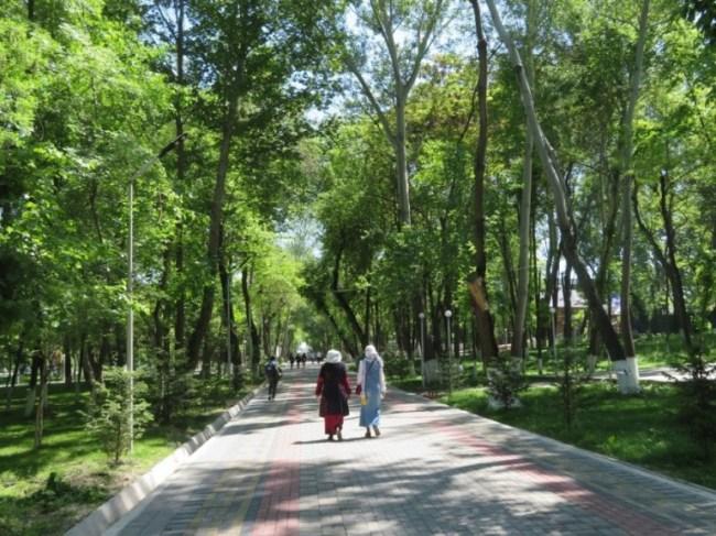 Navoi Park in Osh Kyrgyzstan