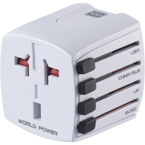 Go Travel Worldwide Plug Adapter