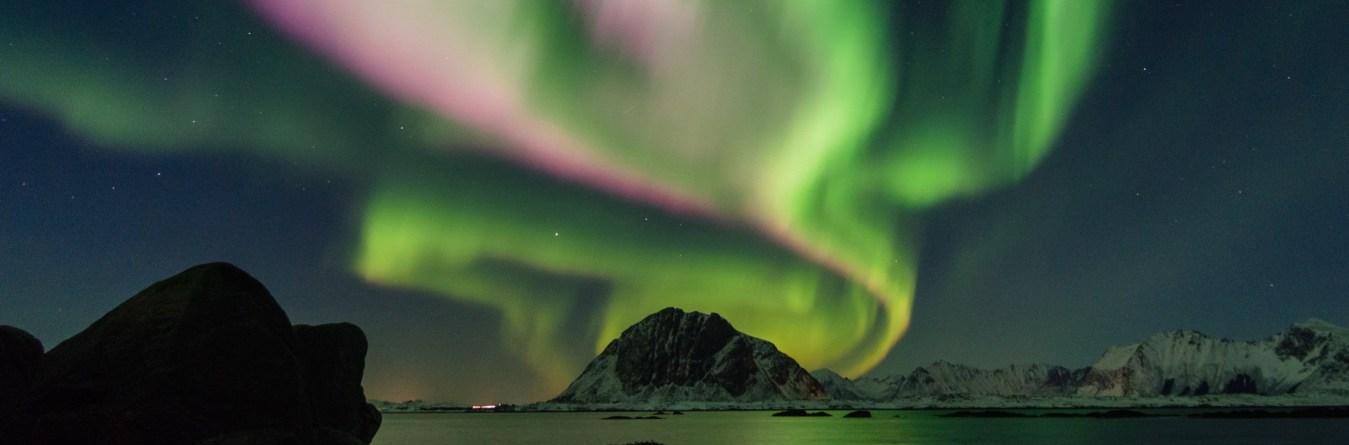 Wo ist das Polarlicht in Skandinavien zu sehen?