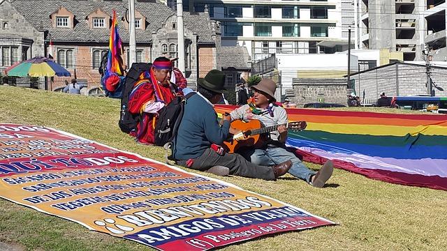 Mochilero en Ecuador - marzo