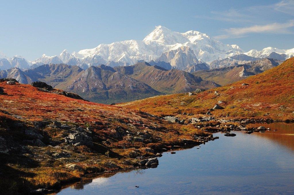 01.kesugi ridge in denali state park Alaska