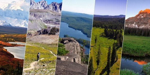 top 5 backpacking destinations in USA