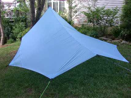 A Catenary Cut Tarp