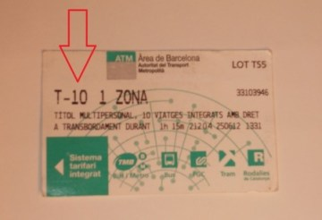 T-10 Pass, Barcelona Metro