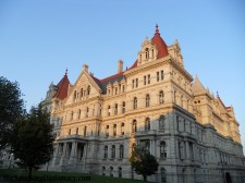 Building in downtown Albany New York