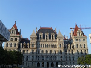 State government building in Albany New York
