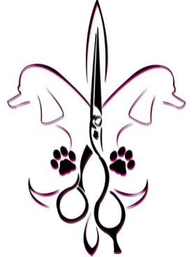 Fleur de lis as used by Melancon Pet Grooming.
