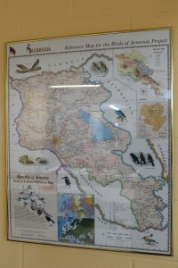 Picture map of Armenia