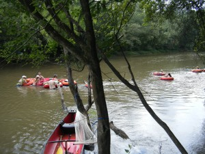 Canoeing and tubing