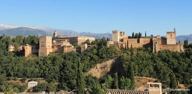 Overlooking Alhambra from Plaza de San Nicolas