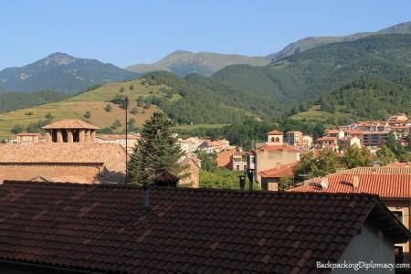 Overlooking Sant Joan de les Abadesses