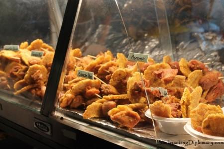 Street food in Puerto Rico