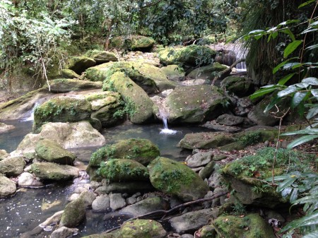 Natural streams in Puerto Rico